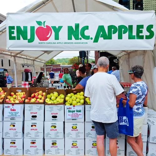 Hendersonville NC Apples