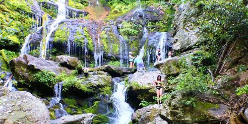 Old Fort NC - Catawba Waterfalls