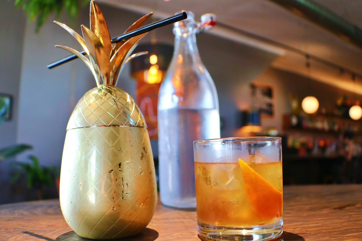 Cocktails At The Golden Pineapple - West Asheville