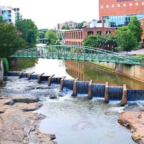 Falls Park at Reedy River