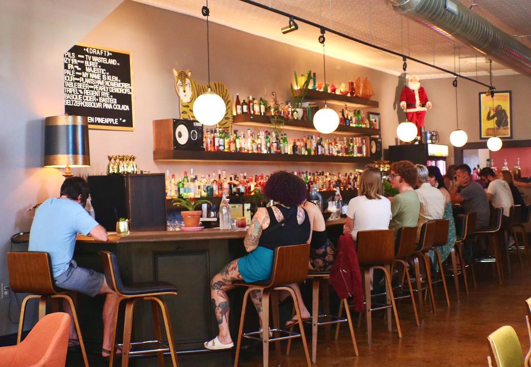 Golden Pineapple Bar - West Asheville