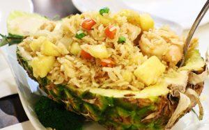Pineapple Fried Rice at Shanghai Dumplings