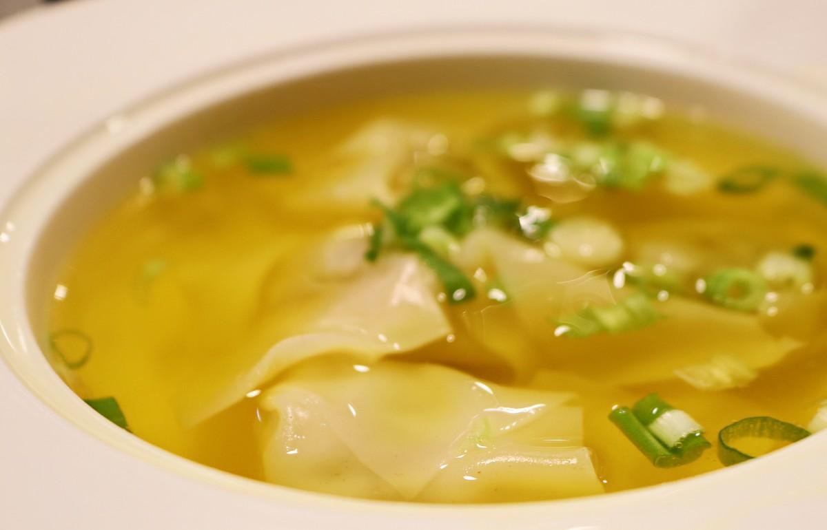 Wonton Soup at Shanghai Dumpling House in Asheville