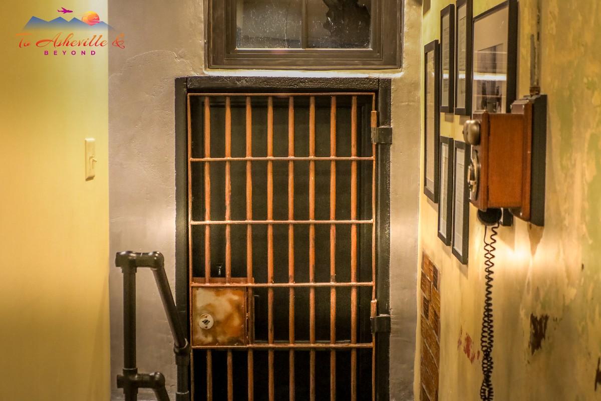 Old Marshall Jail Hall & Stairway